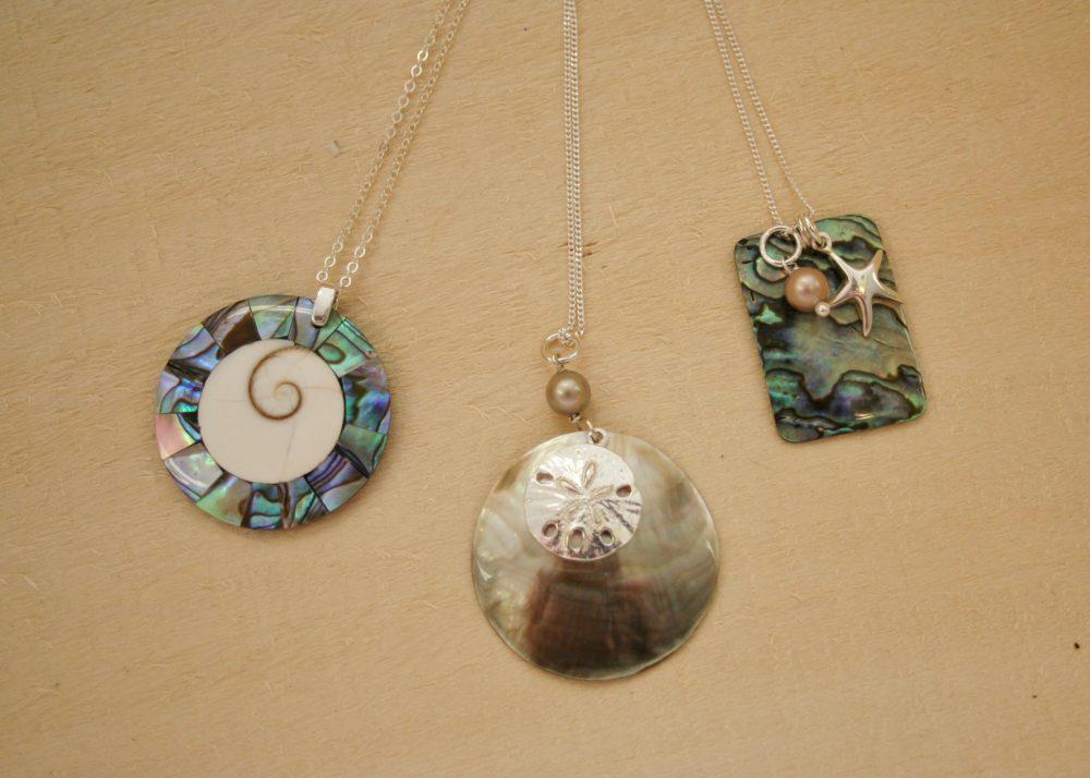 Obgf shell pendants aloadofball Choice Image